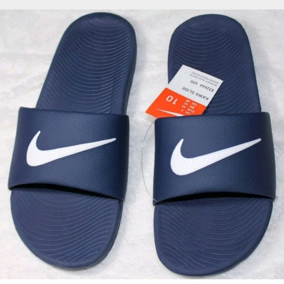 Kawa Slipper Nike Sandal Navy White Blue And Nwt Slide srdxQtCh